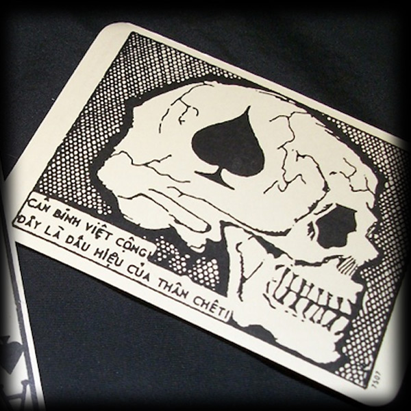 2dfad4a6 Our Death Card Patch Design is directly influenced from this Original Death  Card below.